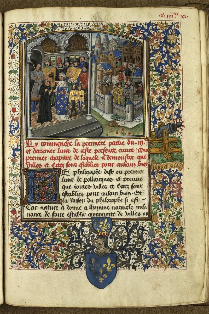Rennes, Bibl. mun., ms. 0153, f. 191 - vue 1