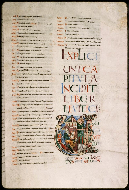 Sées, Bibl. de l'Evêché, ms. 0001, f. 035 - vue 1