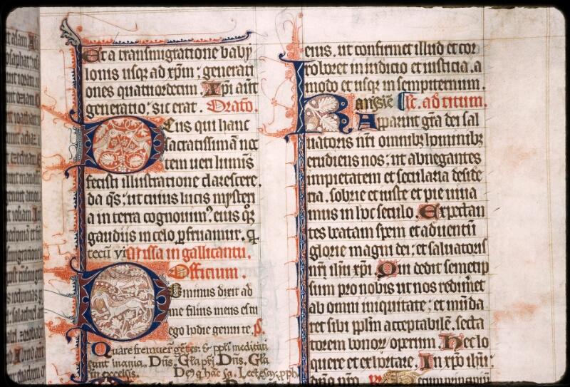 Sées, Bibl. de l'Evêché, ms. 0003, f. 009