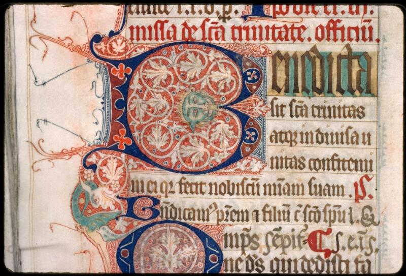 Sées, Bibl. de l'Evêché, ms. 0003, f. 121v