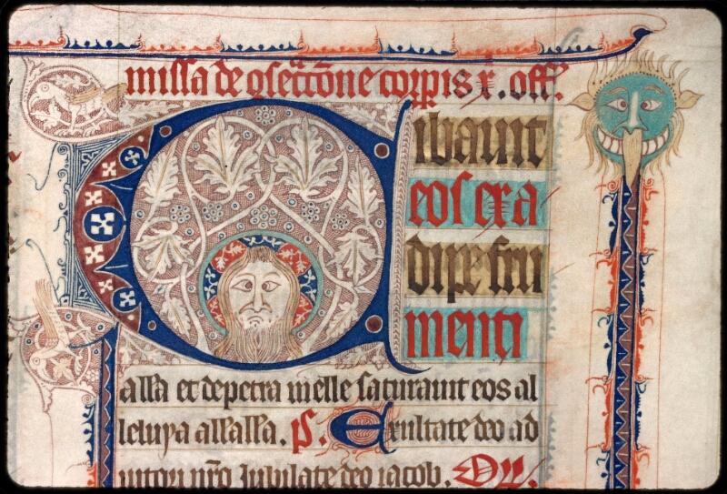 Sées, Bibl. de l'Evêché, ms. 0003, f. 122