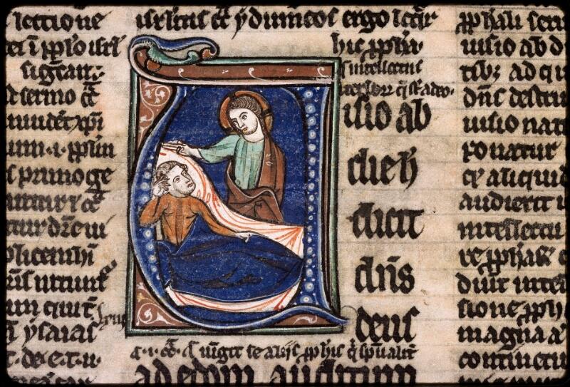 Sées, Bibl. de l'Evêché, ms. 0004, f. 126v - vue 2