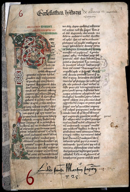Sées, Bibl. de l'Evêché, ms. 0006, f. 001 - vue 1