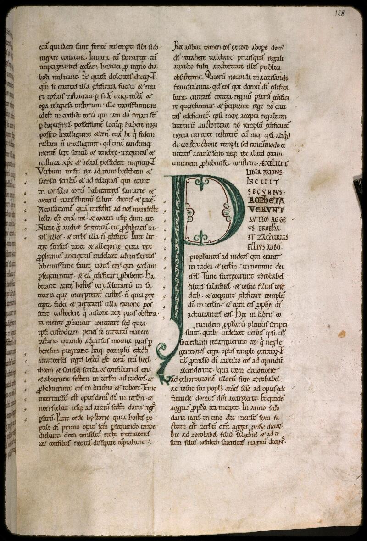 Sées, Bibl. de l'Evêché, ms. 0010, f. 128