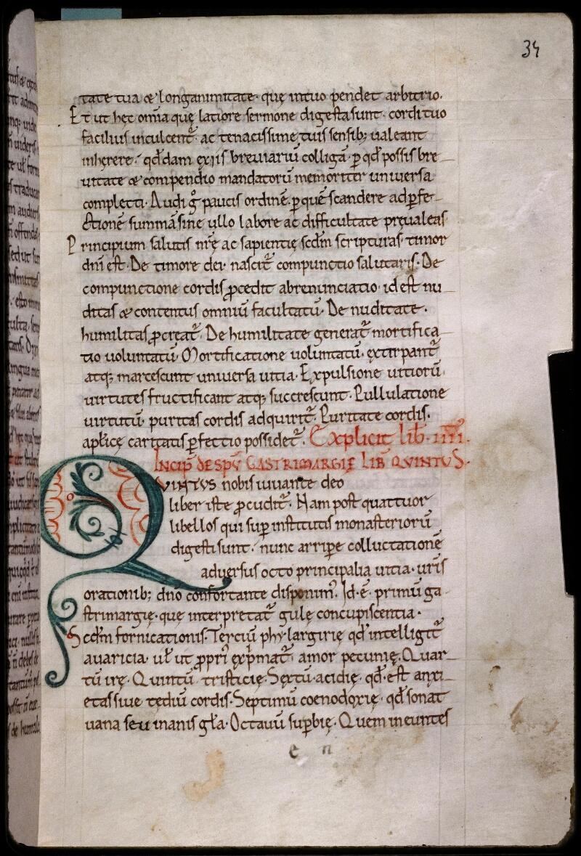 Sées, Bibl. de l'Evêché, ms. 0013, f. 034