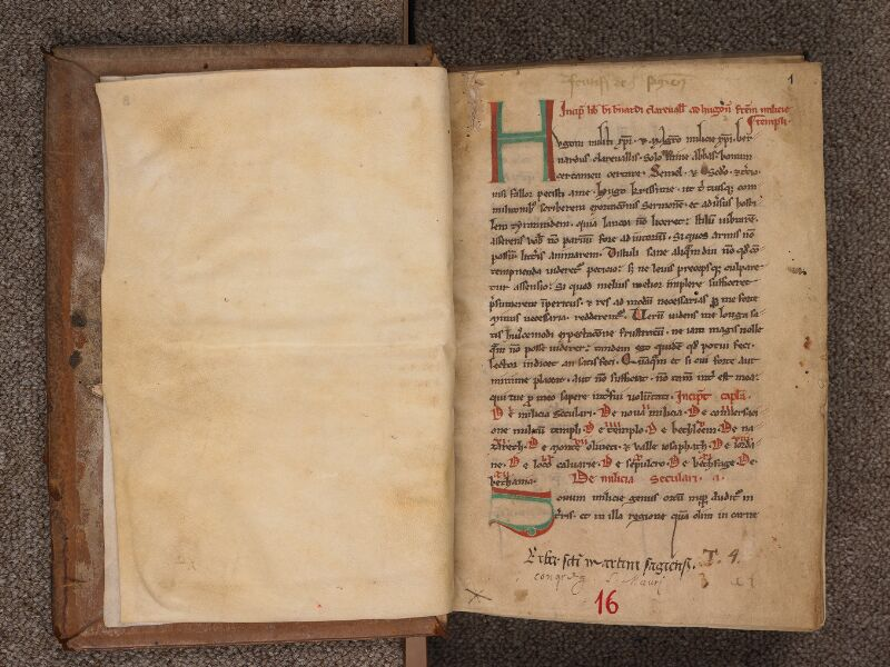 SEES, Archives diocésaines, 016 (T. o. 4), f. 000Bv - f. 001r