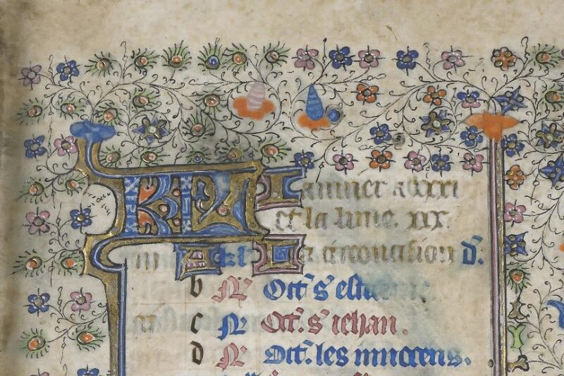 Saint-Brieuc, Bibl. mun., ms. 001, f. 001 - vue 3