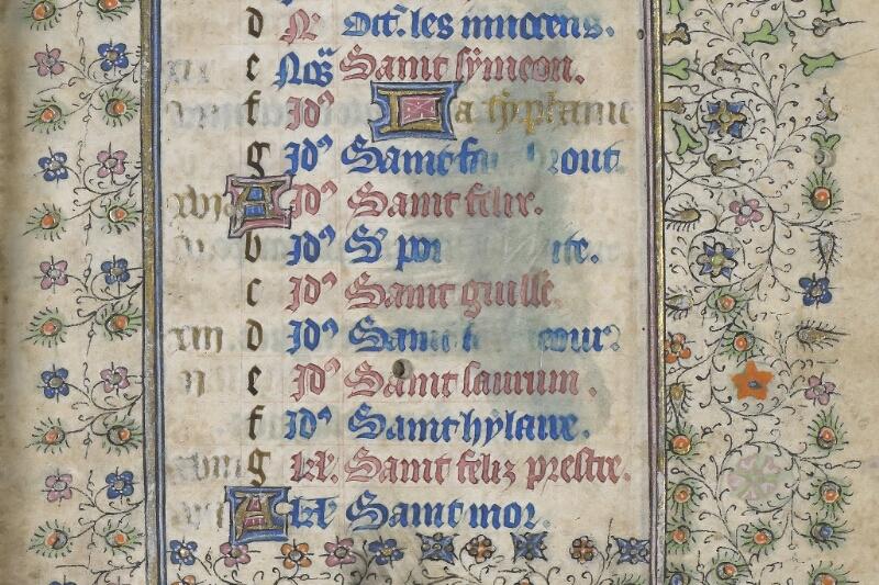Saint-Brieuc, Bibl. mun., ms. 001, f. 001 - vue 4