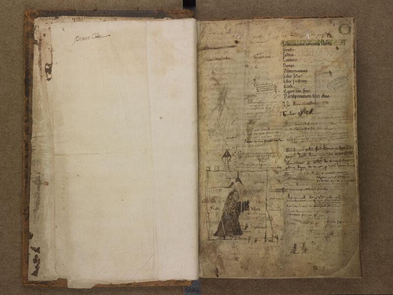 SAINT-OMER, Bibliothèque municipale, 0001, f. 000Bv - 001