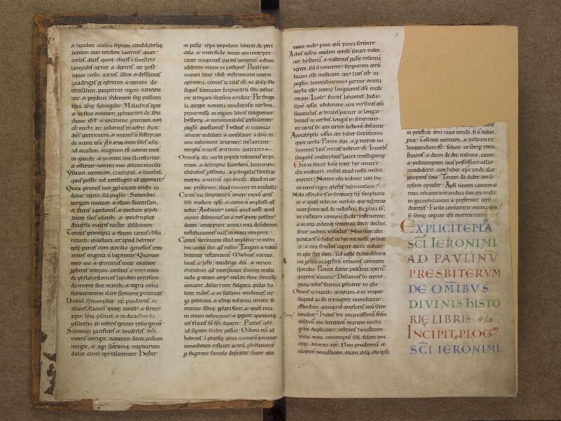 SAINT-OMER, Bibliothèque municipale, 0001, f. 002v - 003