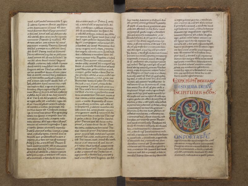 SAINT-OMER, Bibliothèque municipale, 0001, f. 186v - 187