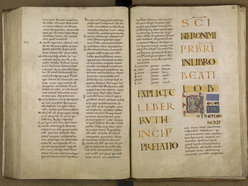 SAINT-OMER, Bibliothèque municipale, 0002, f. 164v - 165