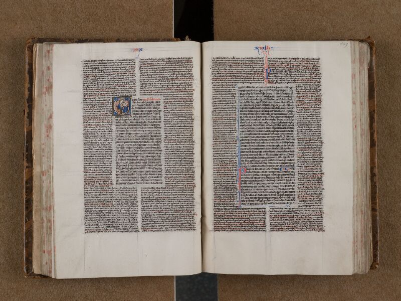 SAINT-OMER, Bibliothèque municipale, 0004, f. 108v - 109