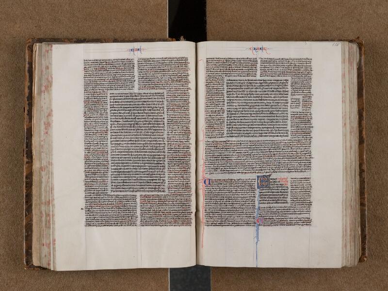 SAINT-OMER, Bibliothèque municipale, 0004, f. 114v - 115