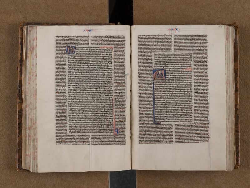 SAINT-OMER, Bibliothèque municipale, 0004, f. 164v - 165