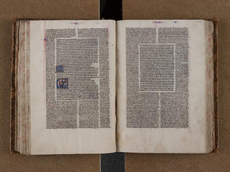 SAINT-OMER, Bibliothèque municipale, 0004, f. 221v - 222