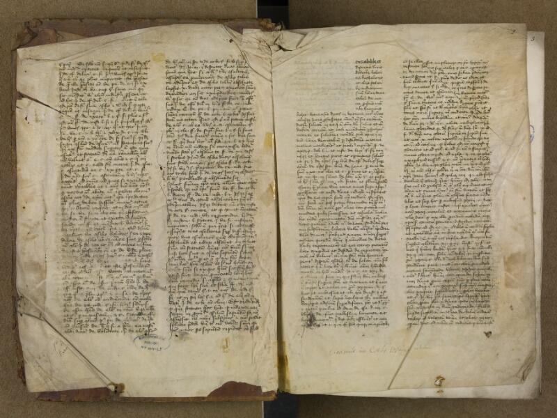 SAINT-OMER, Bibliothèque municipale, 0006, vol. 1, f. 001v - 002