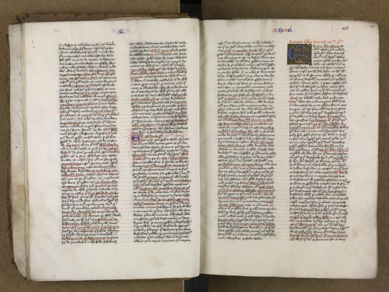 SAINT-OMER, Bibliothèque municipale, 0006, vol. 1, f. 009v - 010