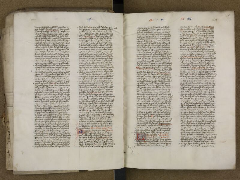 SAINT-OMER, Bibliothèque municipale, 0006, vol. 2, f. 002v - 003