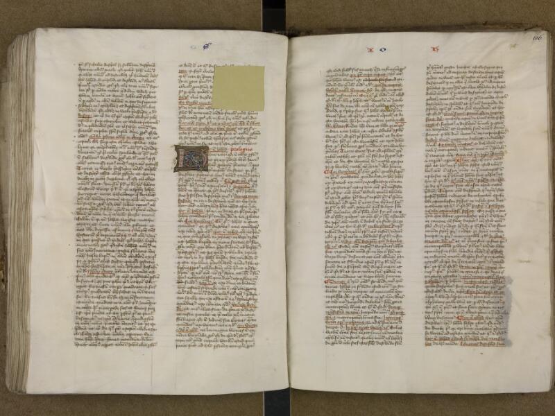 SAINT-OMER, Bibliothèque municipale, 0006, vol. 2, f. 105v - 106
