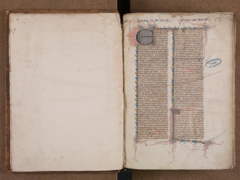 SAINT-OMER, Bibliothèque municipale, 0007, vol. 1, f. 000Av - f. 001