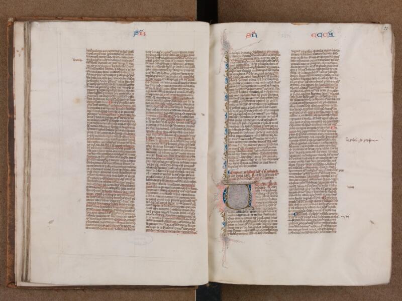 SAINT-OMER, Bibliothèque municipale, 0007, vol. 1, f. 021v - 022
