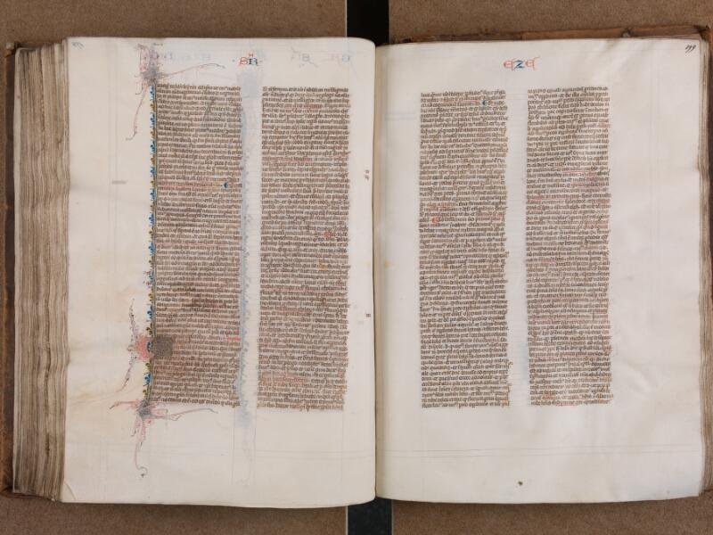 SAINT-OMER, Bibliothèque municipale, 0007, vol. 1, f. 198v - 199