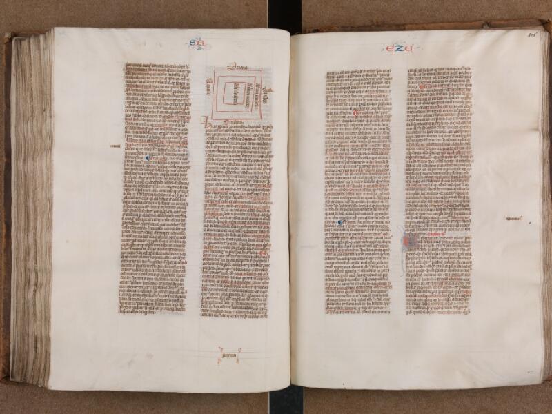 SAINT-OMER, Bibliothèque municipale, 0007, vol. 1, f. 204v - 205