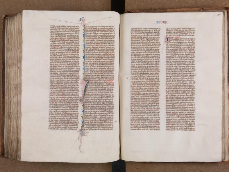 SAINT-OMER, Bibliothèque municipale, 0007, vol. 1, f. 299v - 300