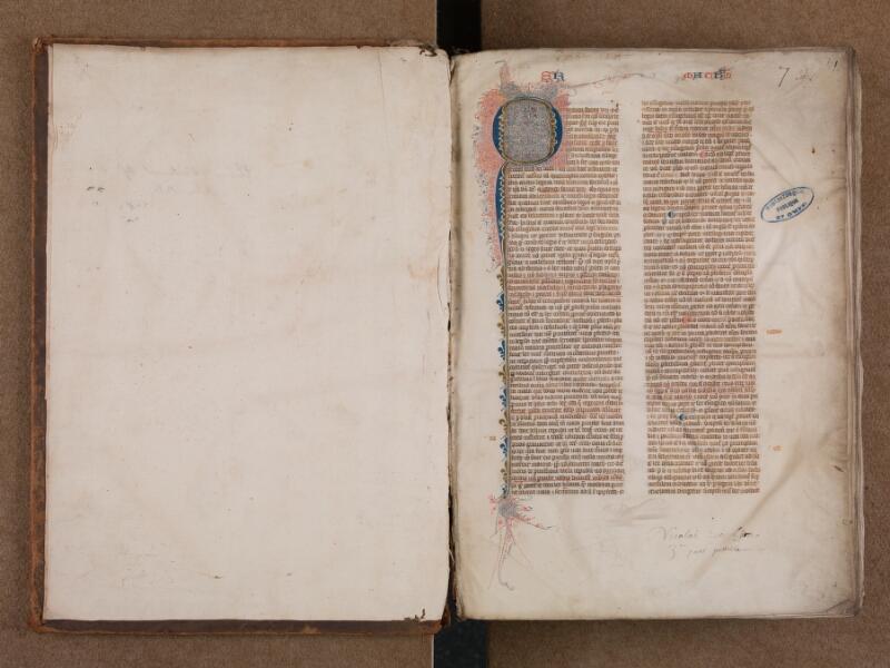 SAINT-OMER, Bibliothèque municipale, 0007, vol. 2, f. 000Av - f. 001