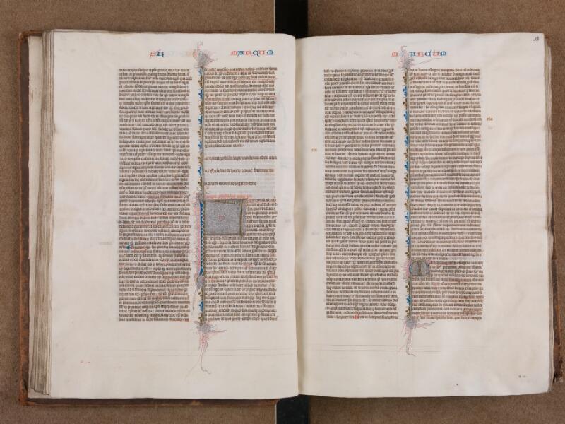 SAINT-OMER, Bibliothèque municipale, 0007, vol. 2, f. 052v - 053