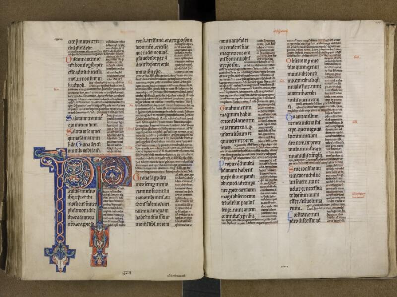 SAINT-OMER, Bibliothèque municipale, 0031, f. 185v - 186