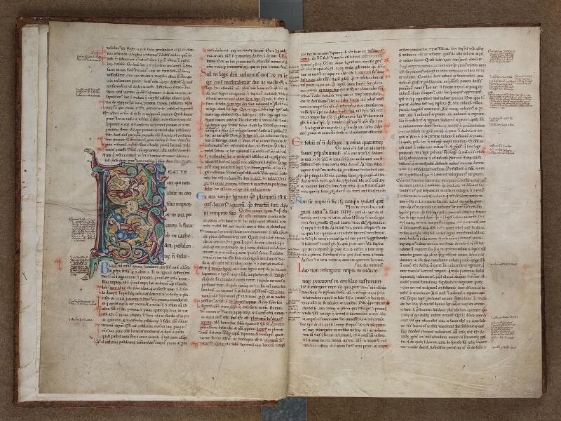 SAINT-OMER, Bibliothèque municipale, 0032, vol. 2, f. 001v - 002