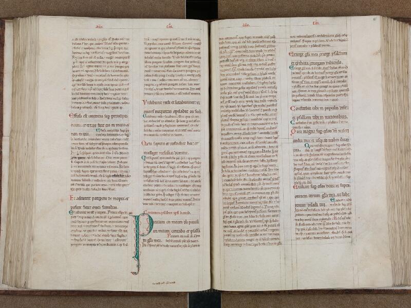 SAINT-OMER, Bibliothèque municipale, 0032, vol. 1, f. 085v - 086
