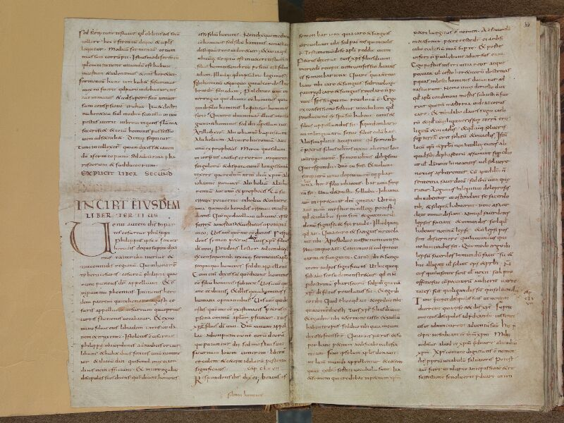 SAINT-OMER, Bibliothèque municipale, 0033 bis, f. 033v - 034