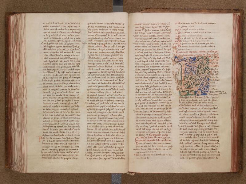 SAINT-OMER, Bibliothèque municipale, 0034, f. 222v - 223