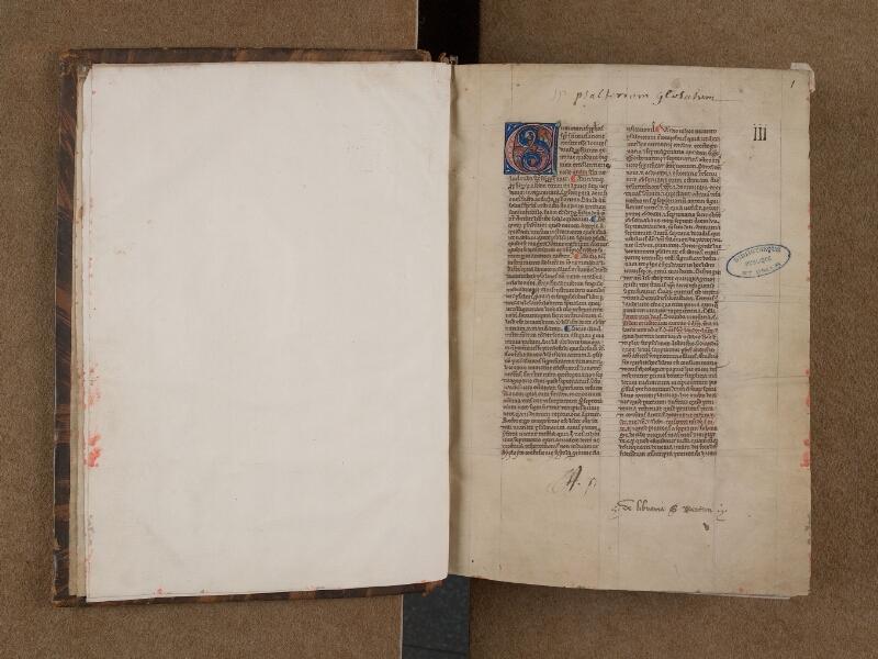 SAINT-OMER, Bibliothèque municipale, 0035, f. 000Bv - 001