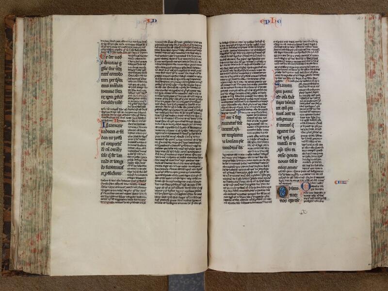 SAINT-OMER, Bibliothèque municipale, 0036, f. 160v - 161