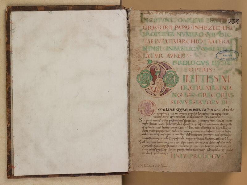 SAINT-OMER, Bibliothèque municipale, 0042, f. 000Bv - f. 001