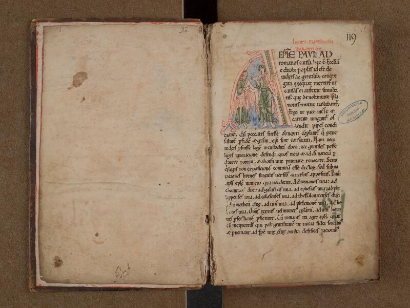 SAINT-OMER, Bibliothèque municipale, 0087, f. 000Bv - f. 001