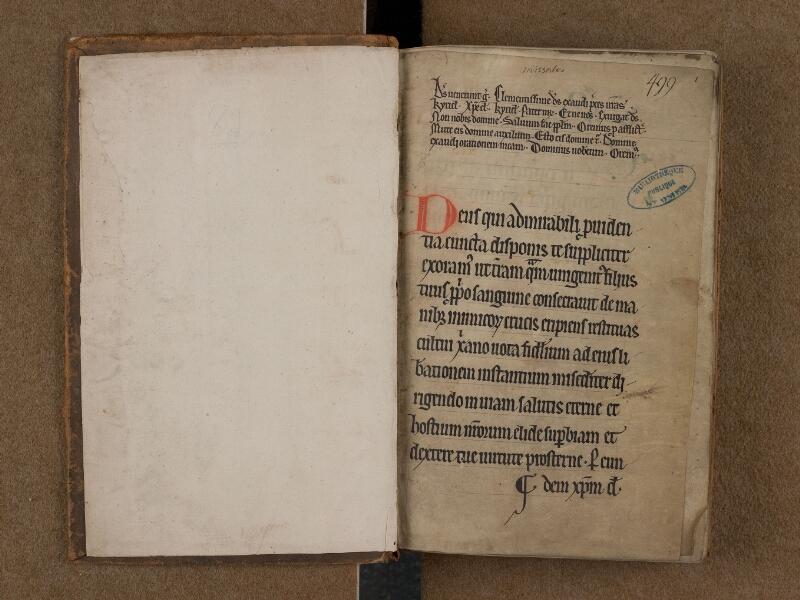 SAINT-OMER, Bibliothèque municipale, 0089, f. 000Av - f. 001