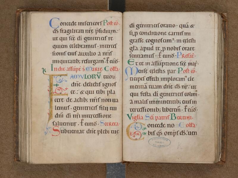 SAINT-OMER, Bibliothèque municipale, 0089, f. 066v - 067