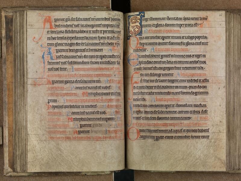 SAINT-OMER, Bibliothèque municipale, 0093, f. 041v - 042
