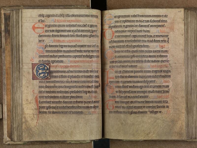 SAINT-OMER, Bibliothèque municipale, 0093, f. 042v - 043