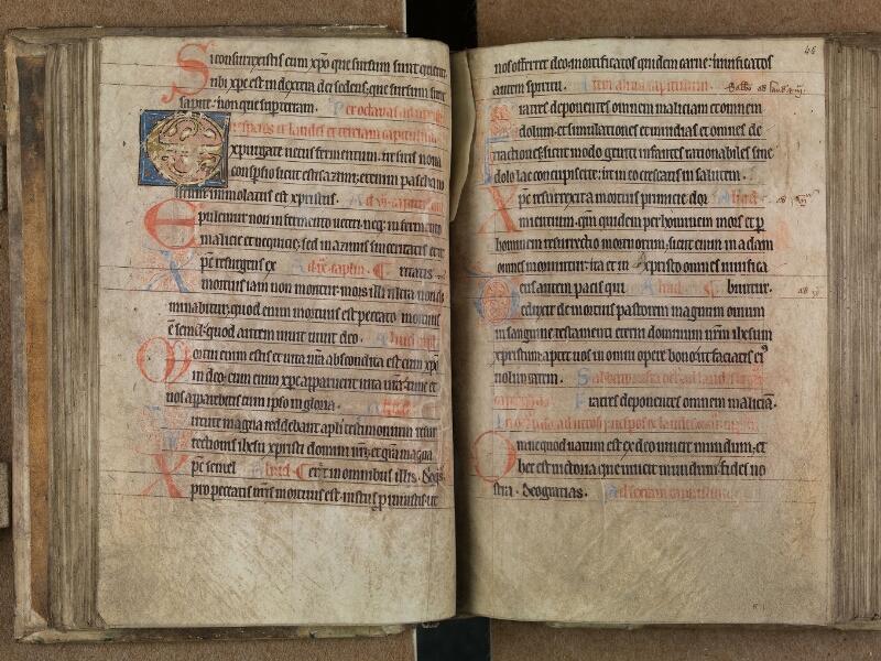 SAINT-OMER, Bibliothèque municipale, 0093, f. 045v - 046