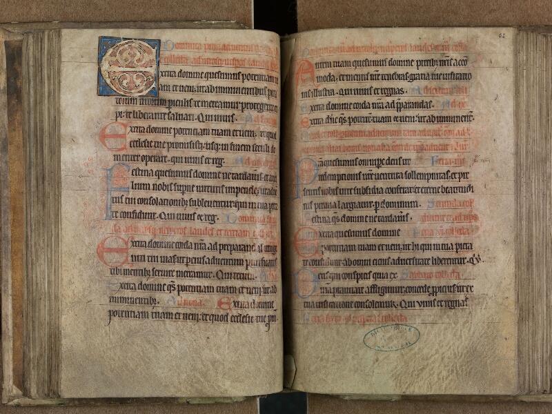 SAINT-OMER, Bibliothèque municipale, 0093, f. 061v - 062