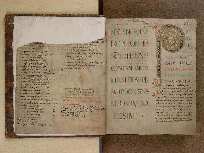 SAINT-OMER, Bibliothèque municipale, 0097, f. 001v - 002