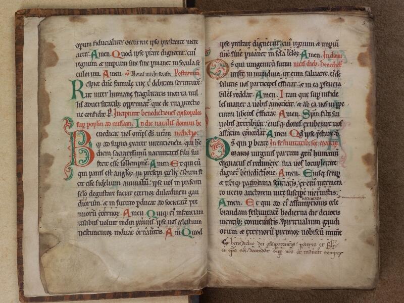 SAINT-OMER, Bibliothèque municipale, 0098, f. 002v - 003