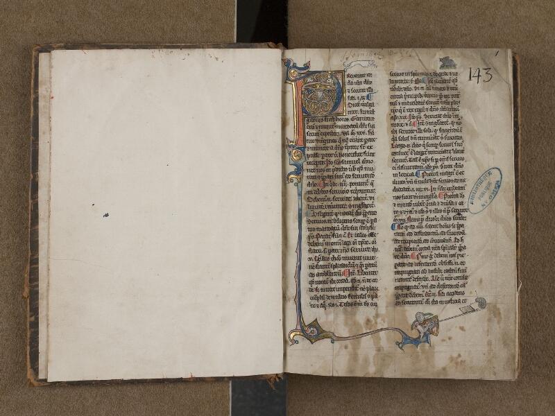 SAINT-OMER, Bibliothèque municipale, 0109, f. 000Bv - f. 001