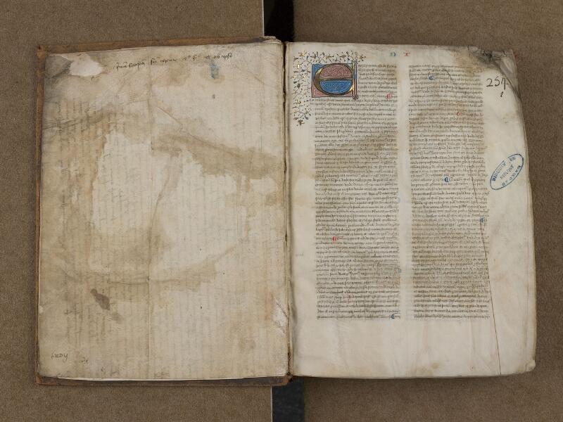 SAINT-OMER, Bibliothèque municipale, 0122, f. 001v - f. 002